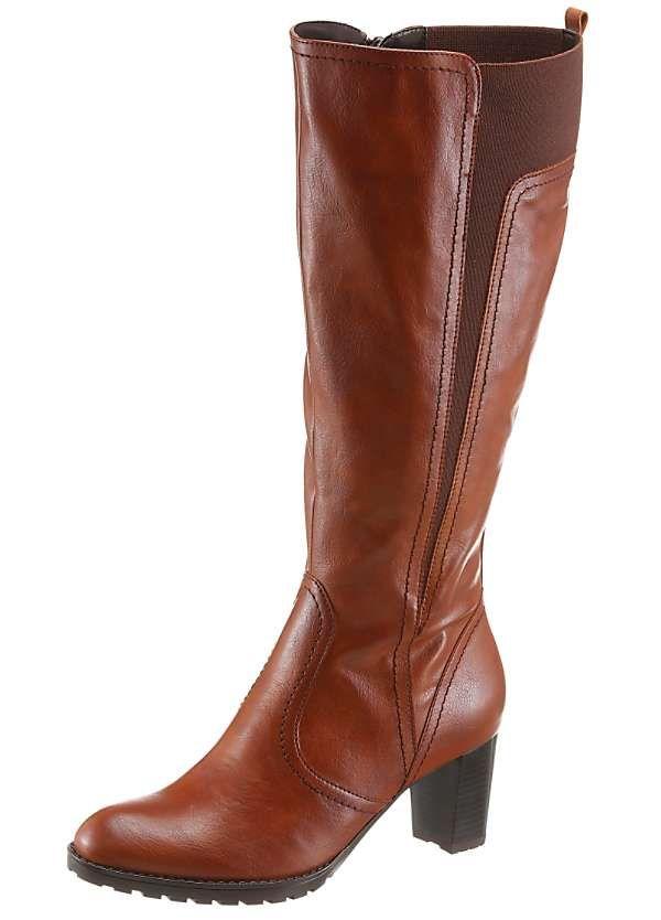 Wide Leg Knee Length Boots by Ara
