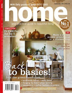 Home September 2013 - Back to basics
