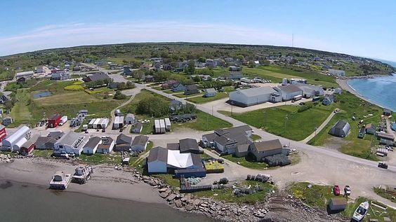 Meteghan aerial-land and water Grade 2 Social Alberta.