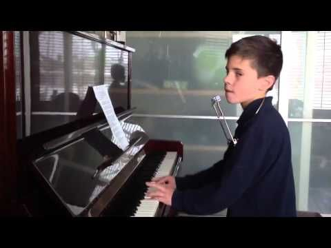 Piano Man - Billy Joel - 10 Year Old Christian Lalama