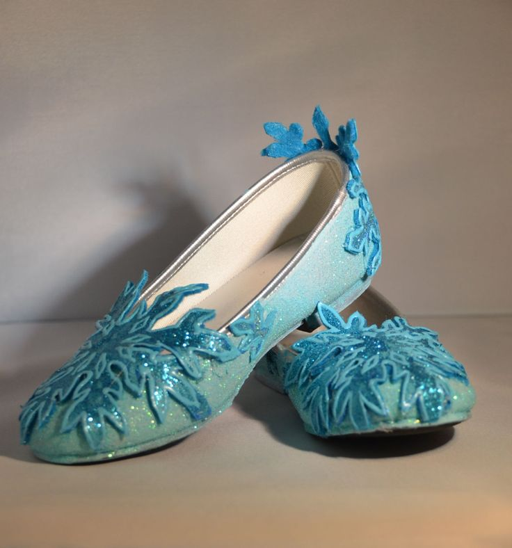 Elsa's Shoes Inspired By Disney Movie by SplendidImaginations, $48.00