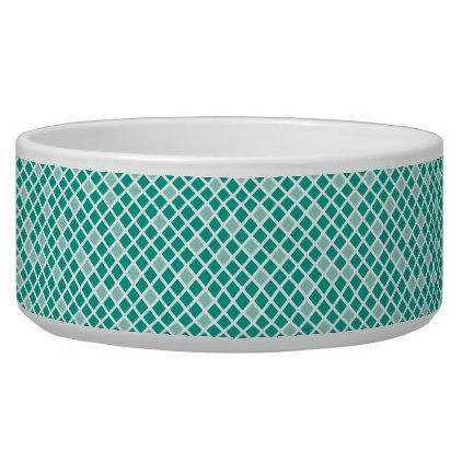 Diamonds  Arcadia Teal Bowl - home gifts ideas decor special unique custom individual customized individualized