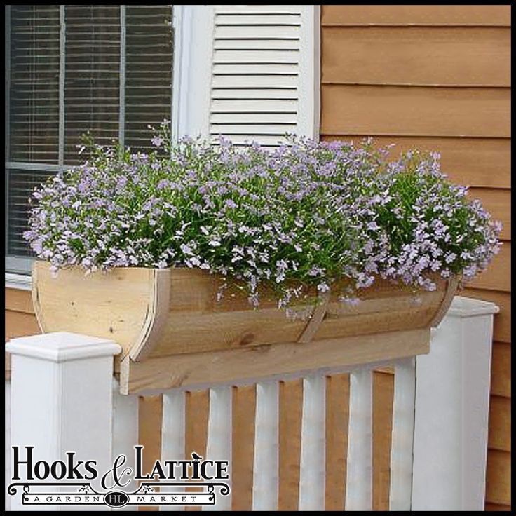 32 Best Deck Rail Planters Images On Pinterest: 1000+ Images About Garden│Containers: Deck Railing On