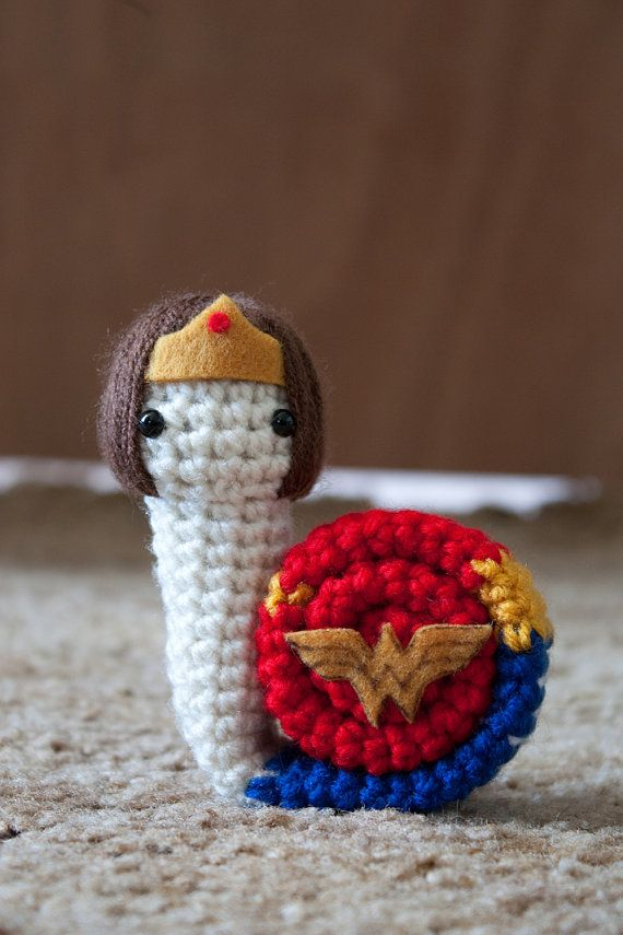 This item is * Made to order * Please allow 1-2 weeks for production *    Shes who the world needs her to be. Shes Wonder Woman!    Snails are
