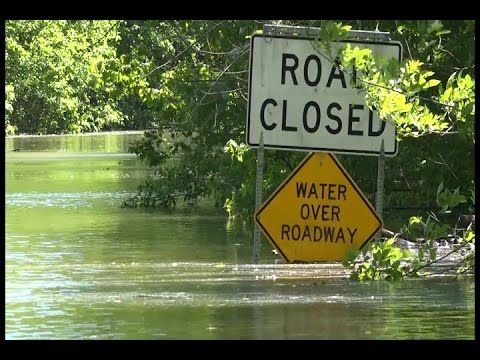 Mississippi River Flooding in Union County Illinois. - 5/5/2017 - YouTube