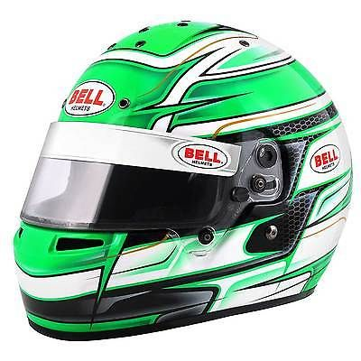 Bell #karting / go kart #kc7-cmr snell approved crash helmet / lid in #venom gree,  View more on the LINK: http://www.zeppy.io/product/gb/2/361619540208/