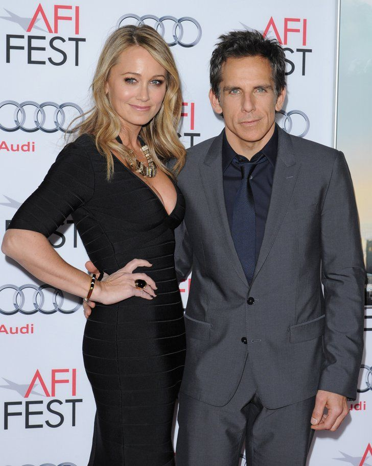 Pin for Later: Hollywood Couples Who Have Been Together the Longest Ben Stiller and Christine Taylor