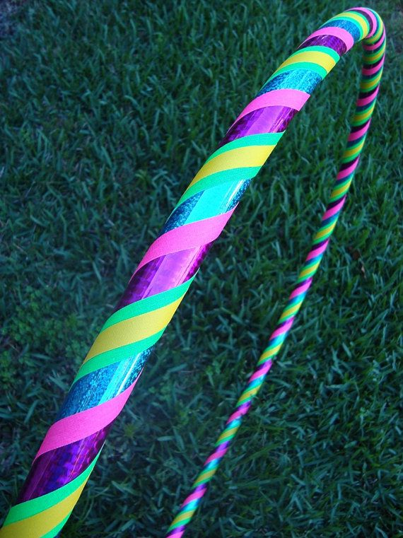Custom AURORA 5 Color Hula Hoop by SpellboundHoops on Etsy, $32.50 - may go with this design