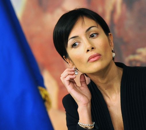 Beautiful Italian politician and former model and showgirl Maria Rosaria Cafagna
