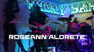 "Roseann Aldrete: Jimi Hendrix/Stevie Ray Vaughn - Little Wing - performed by Cougrzz Rock Winchester CA   Cougrzz Rock! with lead guitarist Roseann Aldrete performing Stevie Ray Vaughn's Ode to Jimi Hendrix ""Little Wing"" at Whisky Babes Club Winchester CA March 31 2017. Jimi Hendrix/Stevie Ray Vaughn - Little Wing - performed by Cougrzz Rock Winchester CA Roseann Aldrete"