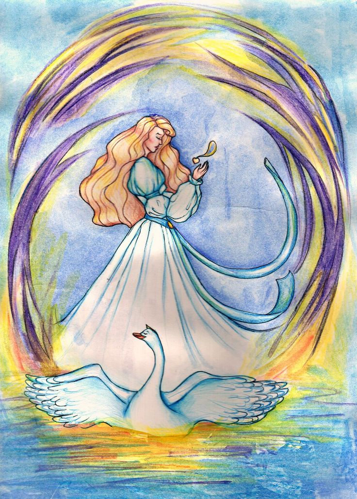 Swan princess by Sophia756.deviantart.com on @DeviantArt