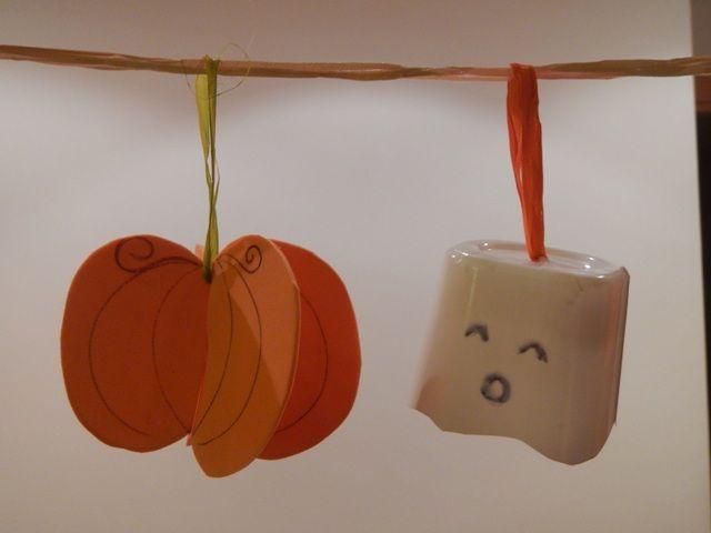 #tutorial #Ghirlanda di #Halloween fai da te per bambini http://www.amando.it/halloween/ghirlanda-halloween-fai-da-te-bambini.html