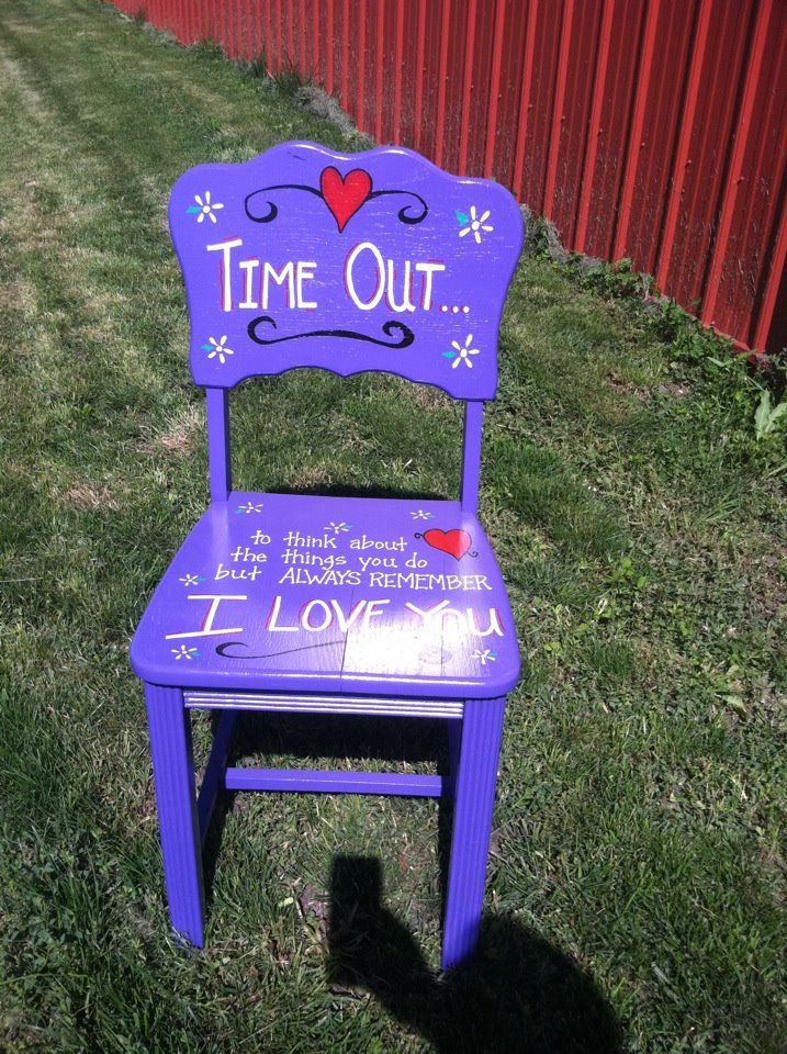 Chairs Time Out Chair And Time Out On Pinterest