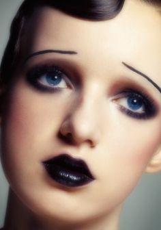 Jaren 20 make-up ✨
