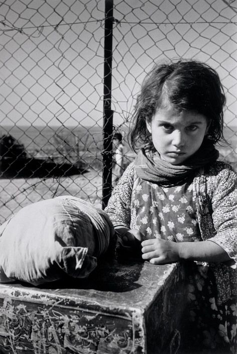 Haifa 1949-50 Yemeni Jewish girl in a transit camp for new immigrants  (Rober Capa)