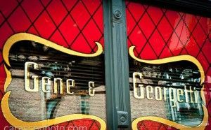 Gene And Georgetti Chicago - A Chicago institution when it comes to a good old Chicago steakhouse. And a fixture in River North. Gossip was it was a notorious mob hangout. But anyway you slice it, the place has great steaks. A must while in Chi-town.