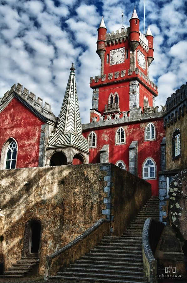 SINTRA, PORTUGAL. Palácio da Pena.Foto por Antonio Castro.