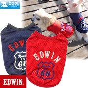 犬服ブランド EDWIN(エドウィン) ルート66タンク 犬の服サイズ(XS〜2L)ダックスサイズ有り