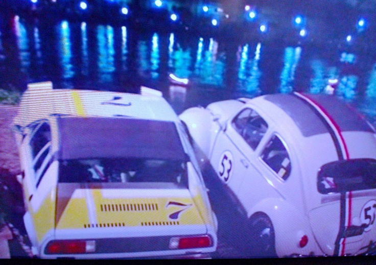 Giselle the Lancia Scorpion & Herbie the ... Beetle
