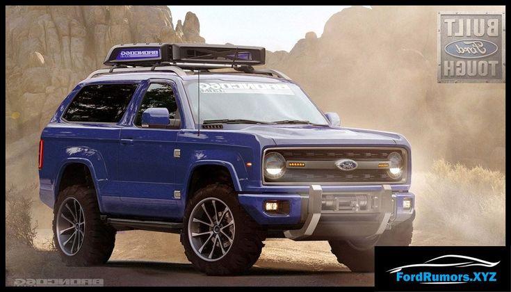2020 Ford Bronco Price Interior Specs 2019 2020 Ford