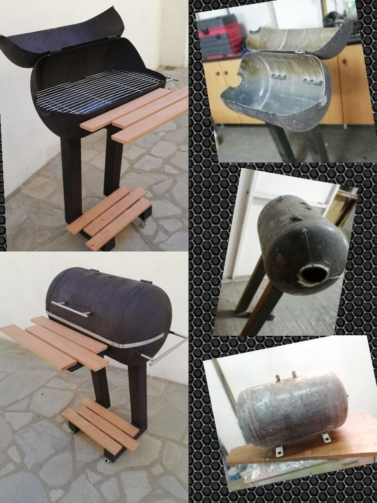 Recycled Metal  Barbecue
