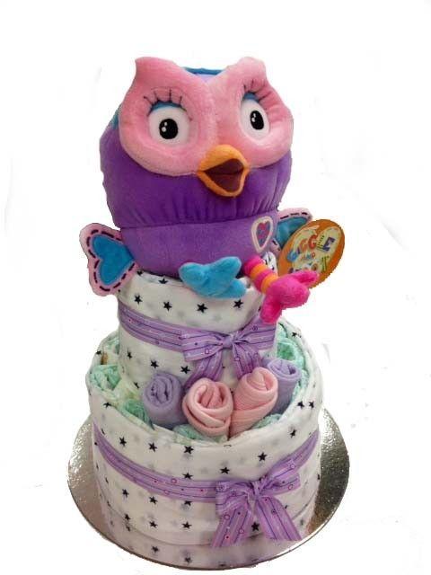 Hootabelle Nappy Cake - 2 Tier