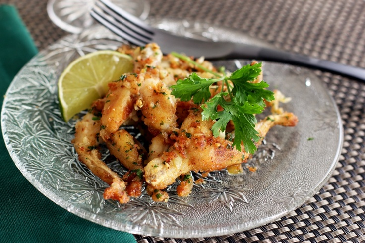 Frog legs is one of my favourite entree dishes. This recipe is very similar to how my dad used to make them.