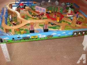 8 best Harold\'s bday thomas track images on Pinterest | Wooden train ...