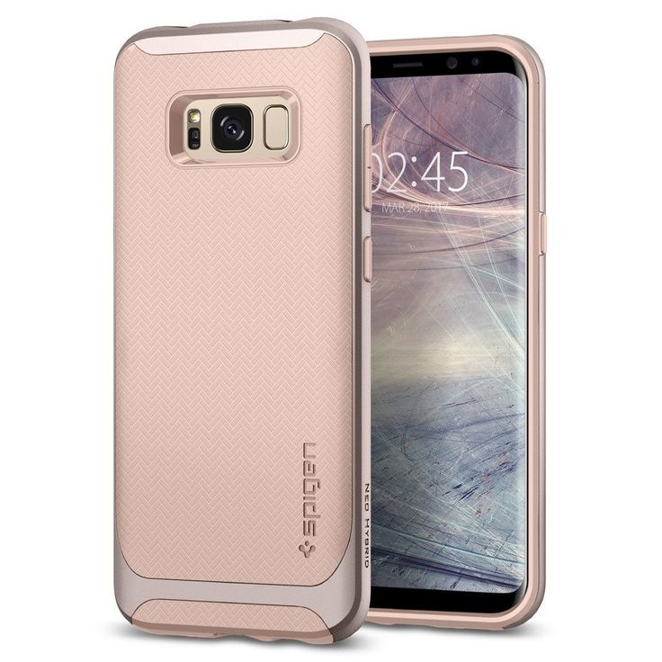 Spigen S8 Neo Hybrid Pink #agorashop #samsung_S8 #spigen #cases #beautiful