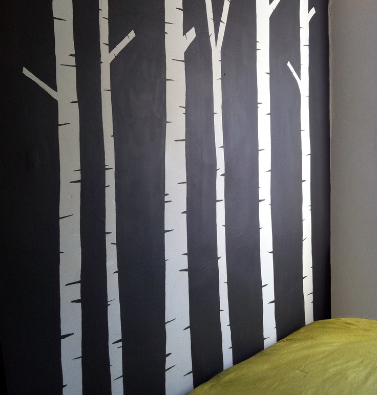 1000 images about wall tree mural on pinterest vinyls for Birch tree mural