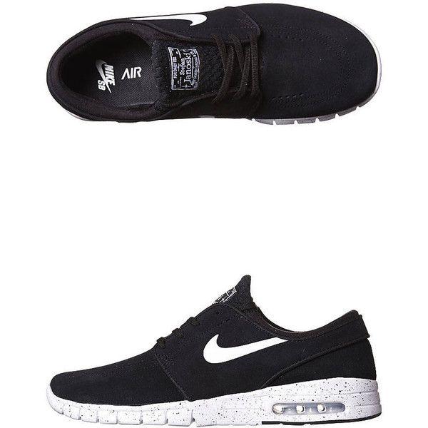 c41574c479 Nike Stefan Janoski Max L Shoe (142220 IQD) ❤ liked on Polyvore featuring  men s. Tênis Nike BrancasNikes BrancosNike ...