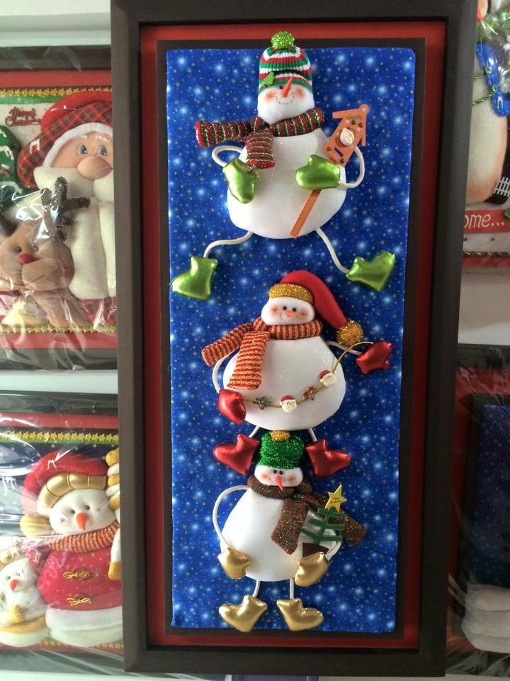 cuadro snowman