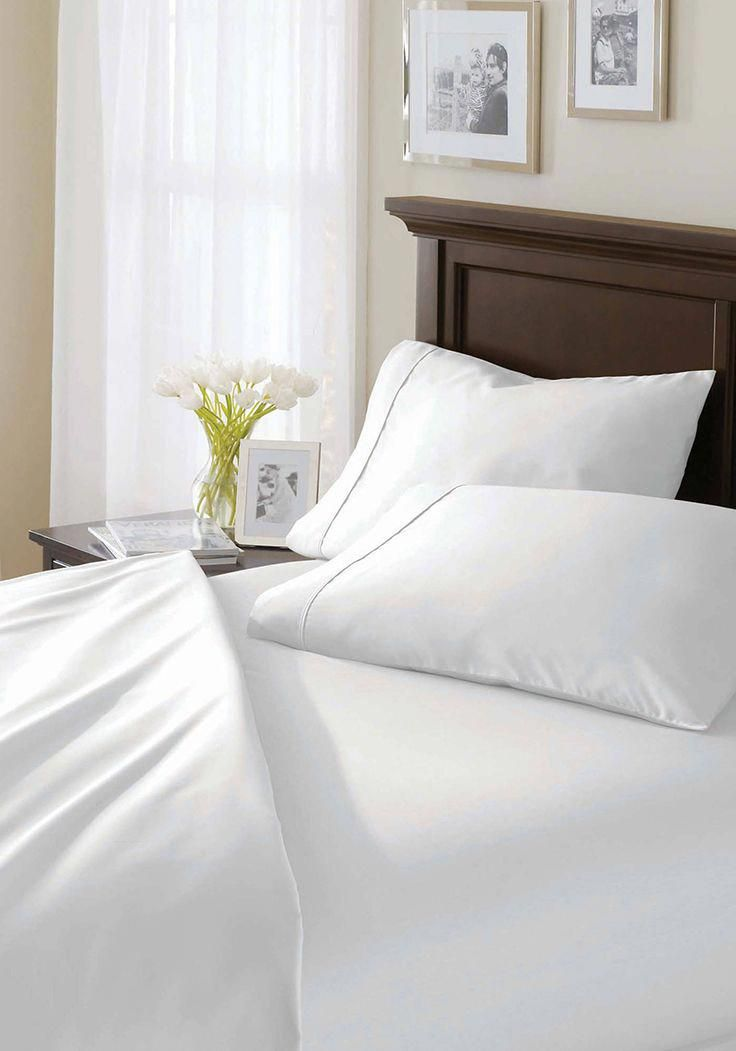 400 Tc Solid 100 Egyptian Cotton True Grip Bedding Sheet Set From Better Homes And Gardens At Bedlinen