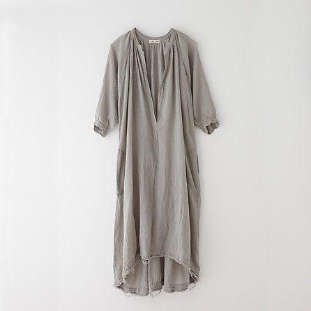 Black Crane Quarter Sleeve Dress