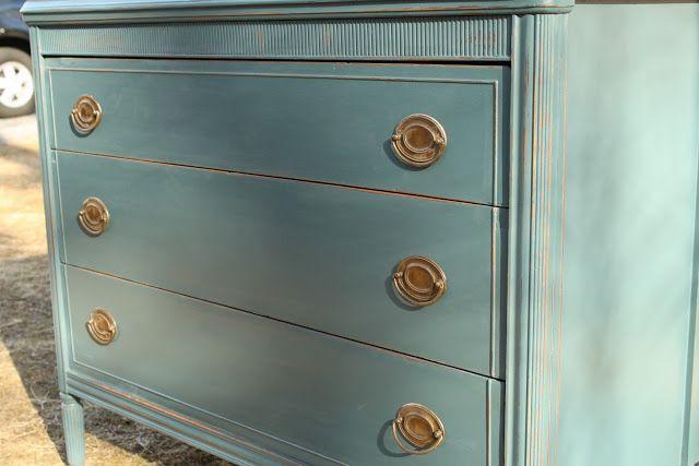 Benjamin Moore - Newburg Green Primitive & Proper: My Top 10 Furniture Projects of 2011