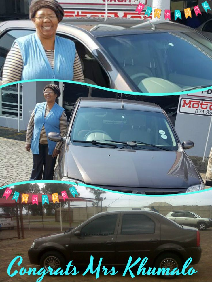 Look @ Mrs Khumalo Warm Smile while taking Delivery! http://www.thempcargroup.co.za  T'S & C'S APPLY!!!