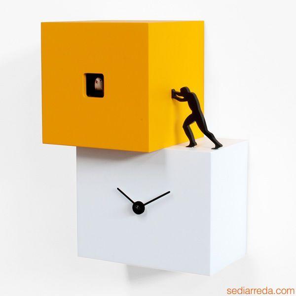 Strong Cucu - cuckoo wall clock by @progetti