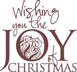 Joy of Christmas Unmounted Stamp