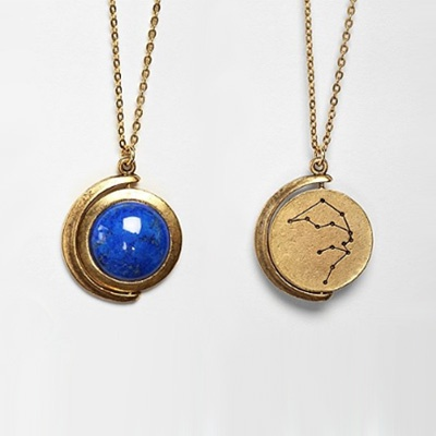 Zodiac Spinner Pendant Necklace is a cute, double sided pendant with your zodiac constellation on the back. UrbanOutfitters.com. $29
