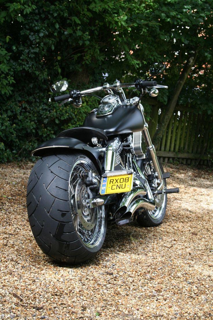Fatbob fat rear - Harley Davidson FATBOB-BIKERS