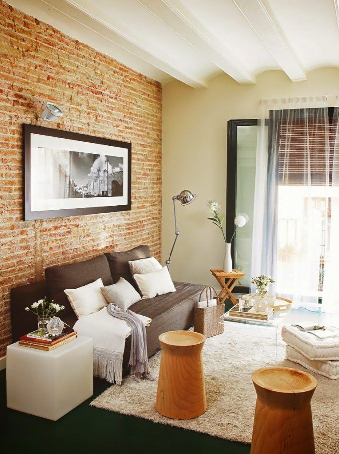 17 migliori idee su mattoni a vista su pinterest interni for Piani di casa di mattoni