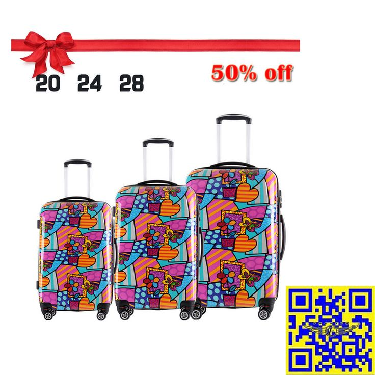 The 2015 largest discount! 12.16—12.31 Christmas sales! All luggage suitcases in E-bay American site with 50% off! Don't miss it!! http://stores.ebay.com/shxq2015 http://www.ebay.com/itm/Luggage-Suitcase-Printing-Spinner-Wheels-Trolley-Hardside-Case-20-24-28-Inches-/252186566474?