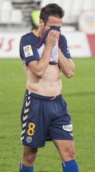 Pitu no podrà jugar el dissabte a Saragossa Foto: L.V.A.