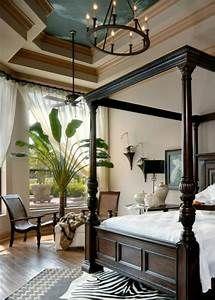British Colonial Bedroom No Plants No Zebras Attractive British