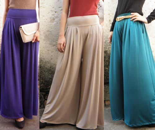 plazo dreses | Palazzo pants are huge for spring/summer 2012