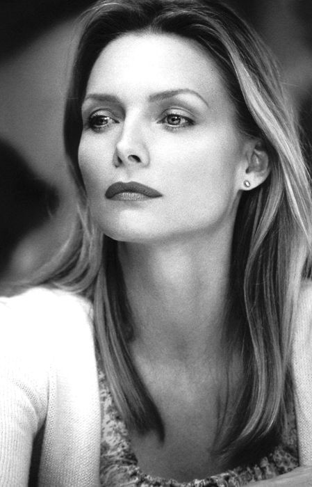 Michelle Pfeiffer . . . such a beautiful woman and talented actress and so clever to have avoided all the nonsense that surrounds celebrities in the 21st century.
