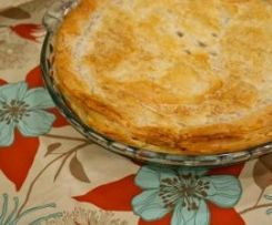 Thermomix Chicken and Vegetable Pie