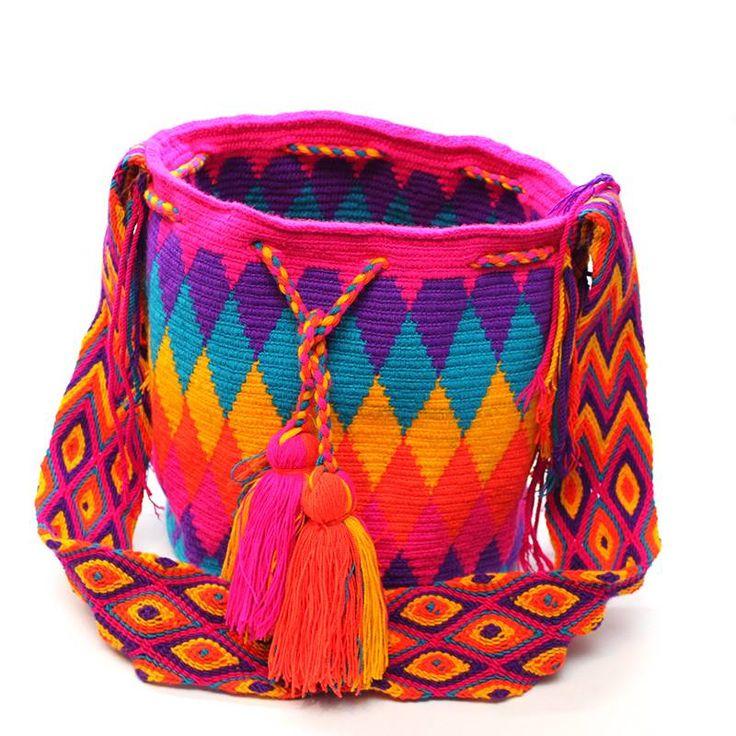 Happy Wayuu Mochila
