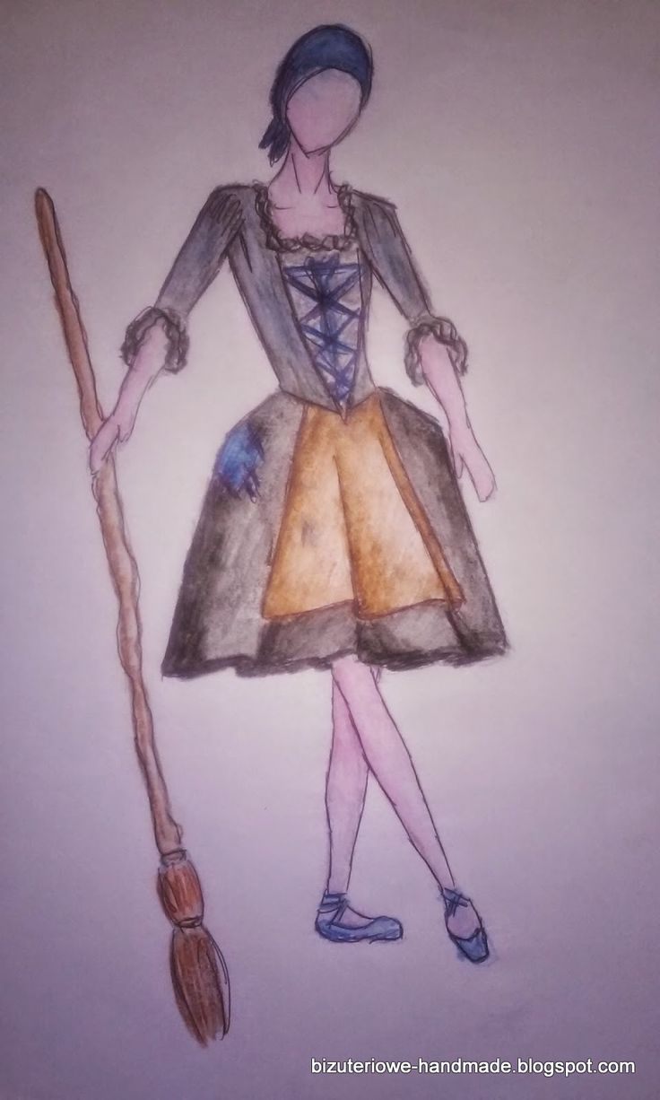 Cinderella ballet costume design  bizuteriowe-handmade.blogspot.com