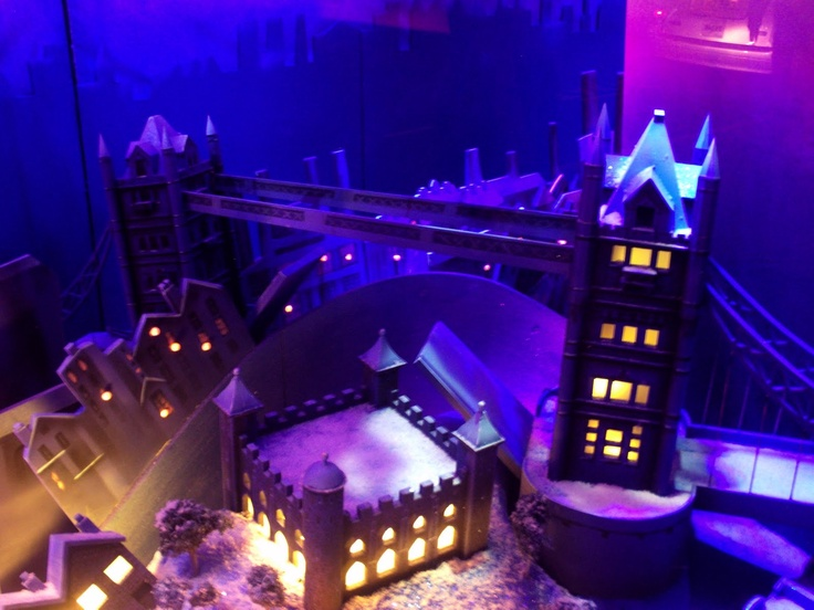 Hurry to Harrods - Peter Pan Themed Christmas Shop Windows